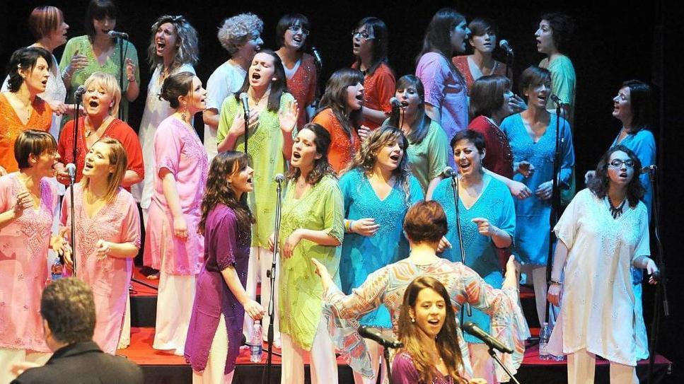 concerti Damavoci Gospel singers